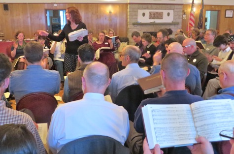 Sacred Harp singing convention