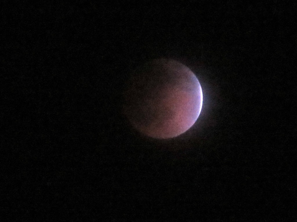 Lunar eclipse, April 14, 2014