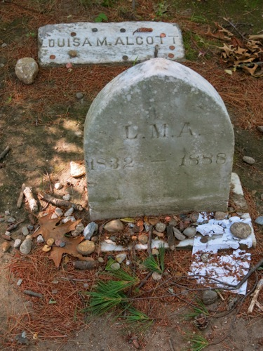 Grave of Louisa May Alcott