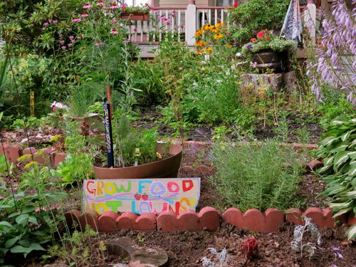 Garden in Fredonia, N.Y.