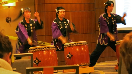 Taiko Legacy Chicago at opening Plenary