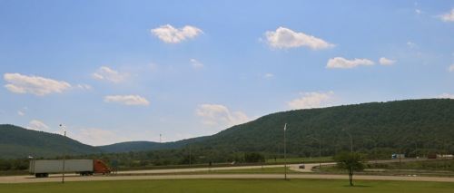 Penna. Turnpike through the Alleghenies