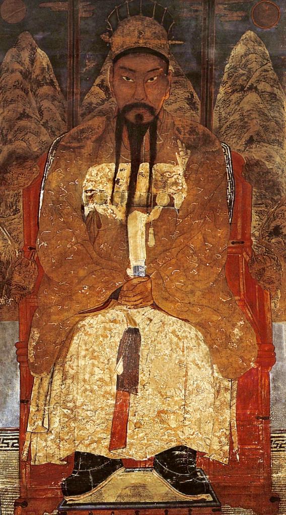 Tan'gun, legendary founder of the first Korean kingdom