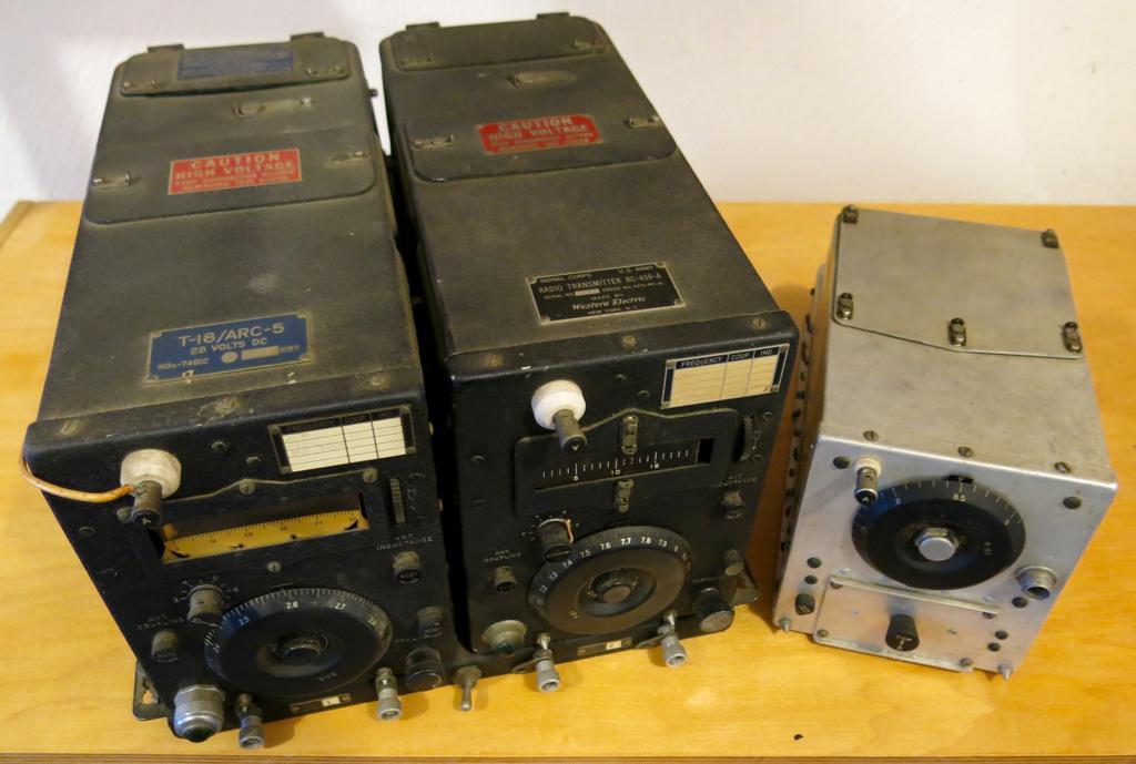 ARC-5 radio BC-459A