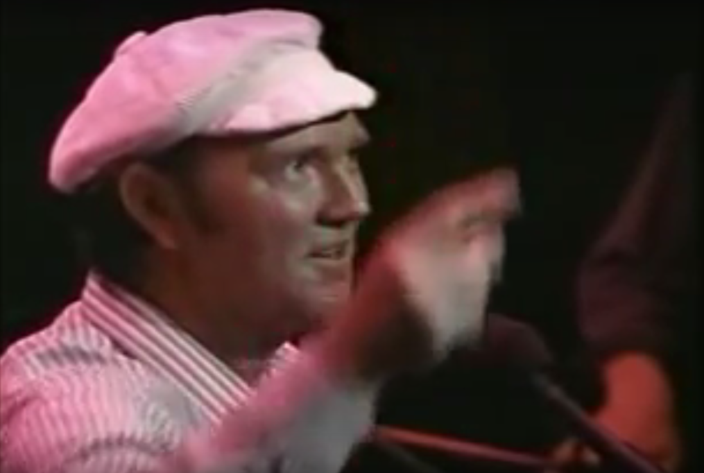 Video still of Liam Clancy speaking